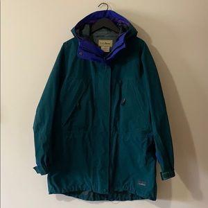 LL Bean Gore Tex Rain Coat